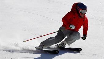 Lara Gut im Anzug des Schweizer Olympia-Teams. Heute fühlt sie sich darin wohl