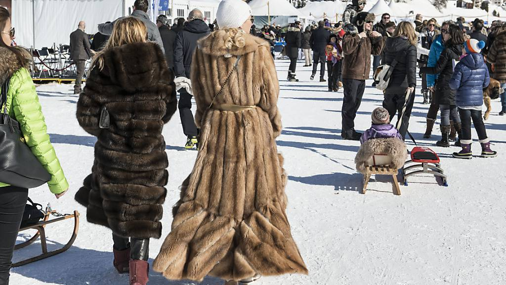 Am White Turf in St. Moritz treffen sich jeweils die Reichen und Superreichen. (Archivbild)