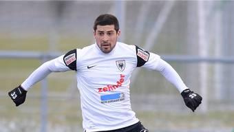 Davide Calla im FC-Aarau-Trikot: Es wird nicht wieder dazu kommen.