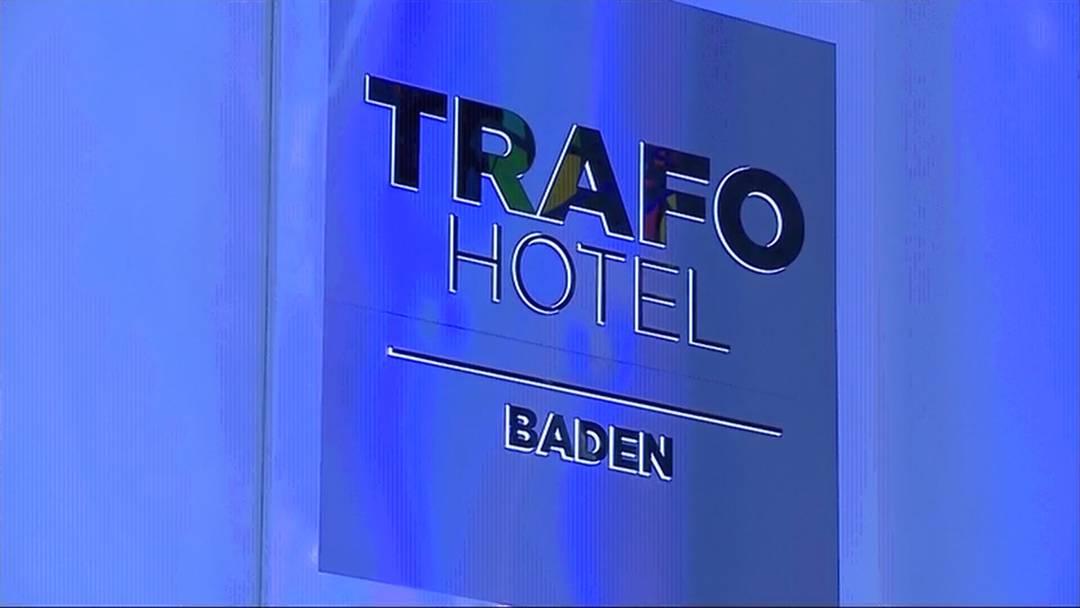 Erster Einblick: Das Trafo Baden am Eröffnungsabend.