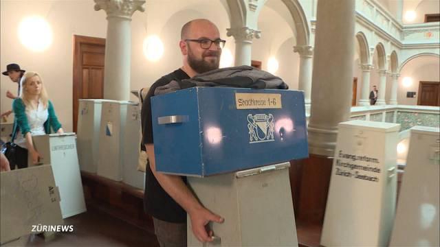 150 Wahlurnen gehen weg wie warme Semmel