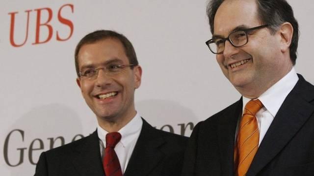 Marcel Rohner (l.) und Peter Kurer (Archiv)