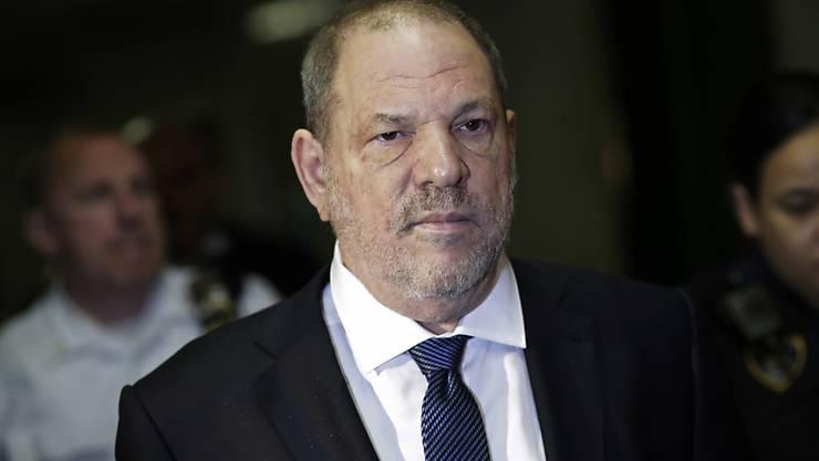 Er dementiert neue Missbrauchsvorwürfe eines polnischen Modells: der ehemalige Hollywood-Filmproduzent Harvey Weinstein. (Archivbild)