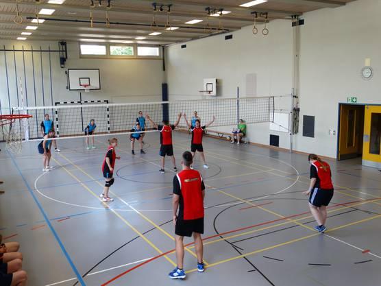 Der Sportverein stellte drei Mannschaften.