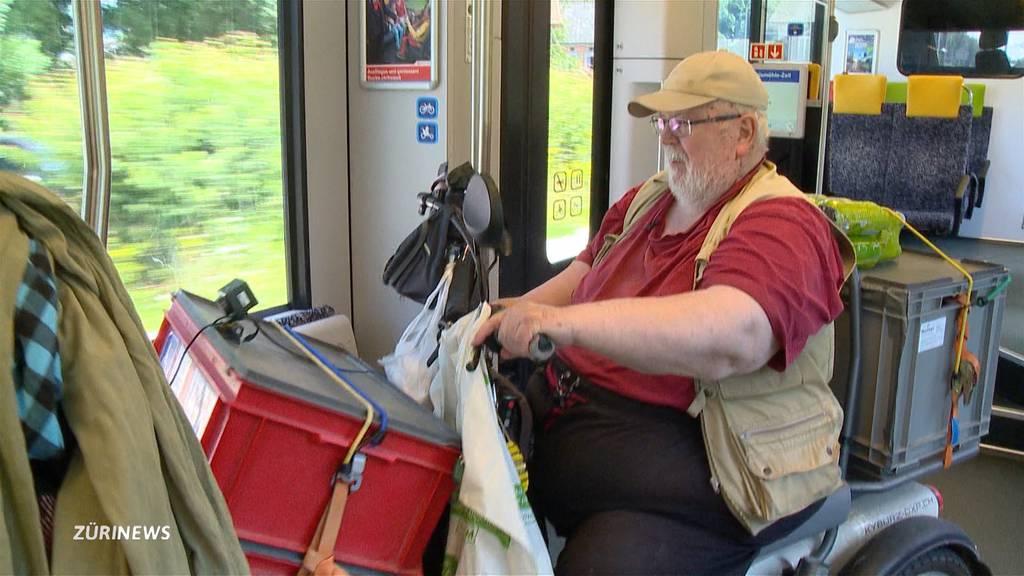 Elektro-Rollstuhl soll zu gross für Pendelverkehr sein