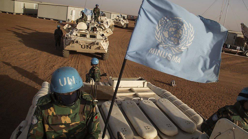 Friedensmission in Mali: Blauhelme aus Bangladesch im Einsatz - sie erhalten Verstärkung (Archivbild).