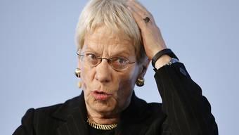 Keiner soll ungeschoren davonkommen: Carla Del Ponte bleibt leidenschaftliche Jägerin von Kriegsverbrechern (in einer Aufnahme vom Januar in Interlaken).