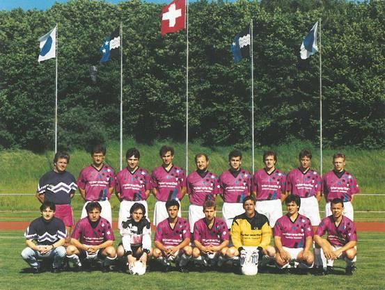 FC Lenzburg Saison 1990-91 Aargauer 3.-Liga-Meister