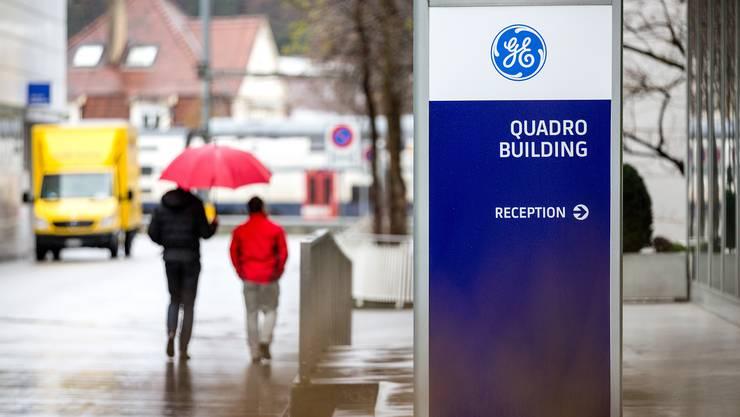Die nächste Abbau-Runde steht vor der Tür: Hauptsitz von GE Power Systems und Steam in Baden.