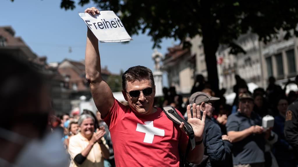 Zentralschweiz: Corona-Demo wird heute zum Public Viewing
