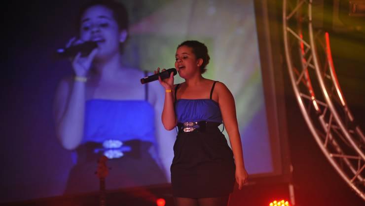 Eine der Gewinnerinnen des Abends, Amina Mwinyi mit «Ain't no other Man» von Christina Aguilera