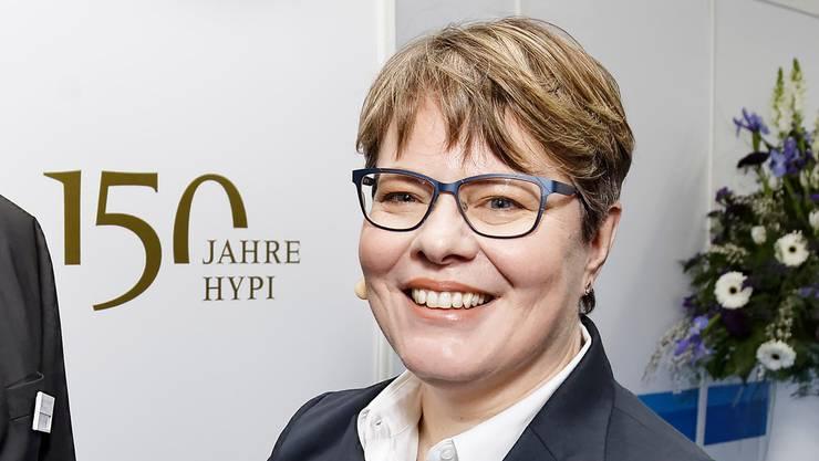 Legt auch im Jahr nach dem grossen Jubiläum gut Zahlen vor: Marianne Wildi, Chefin der Hypothekarbank Lenzburg.