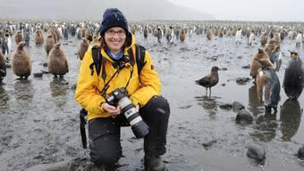 Sandra Walser ist eine leidenschaftliche Polarfotografin
