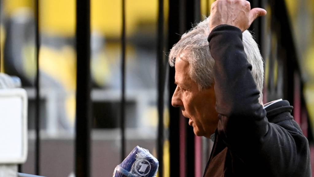 Lucien Favre weist Rücktrittsgedanken zurück: «Das ist totaler Quatsch!»