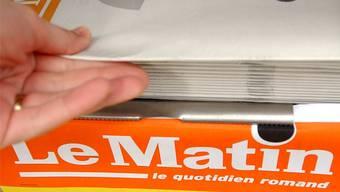 Immer wieder rief «Le Matin» die Kundschaft zum Zahlen auf.