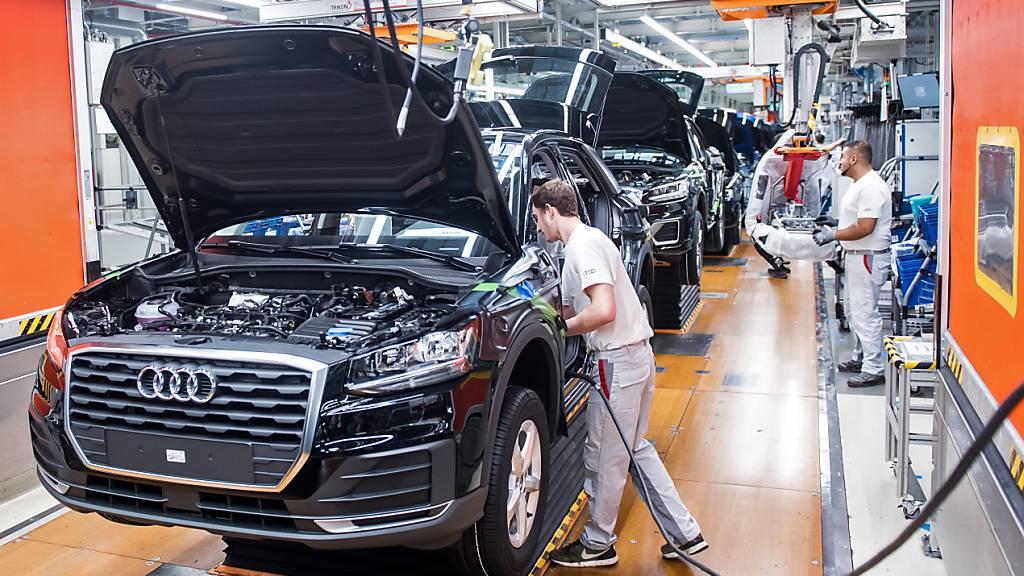 Audi verkauft mehr Autos als im Vorjahr