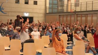 An Gemeindeversammlung Lommiswil vom 14. September gingen die Wogen noch hoch.