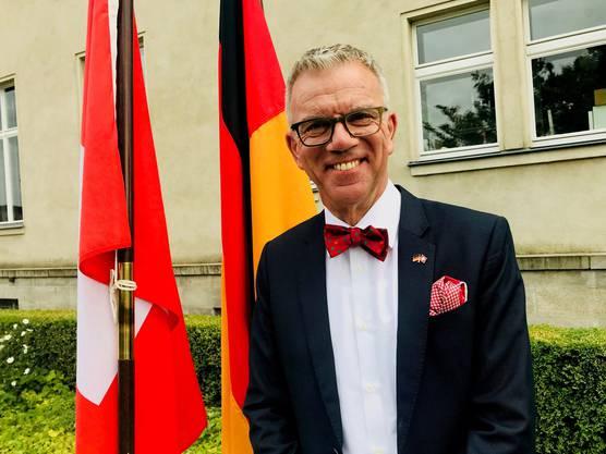 ...und als diplomatischer Vertreter der Schweiz in Deutschland.