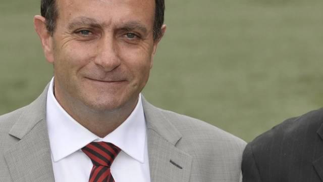 Xamax-Präsident Sylvio Bernasconi