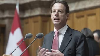 Möglicher Bundesratskandidat Christian Lüscher (FDP, GE).