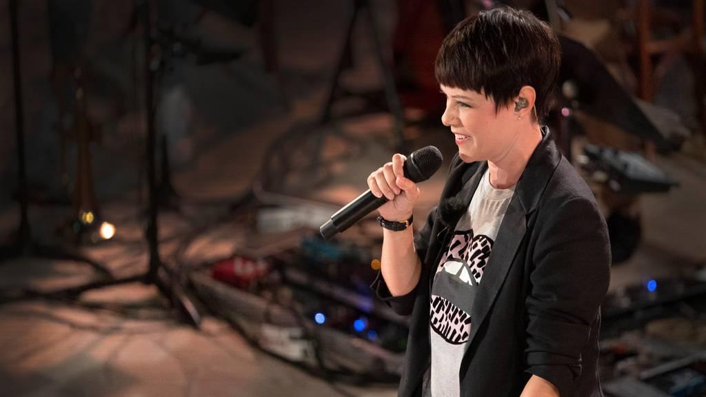Francine Jordi singt «Schiesstäg»