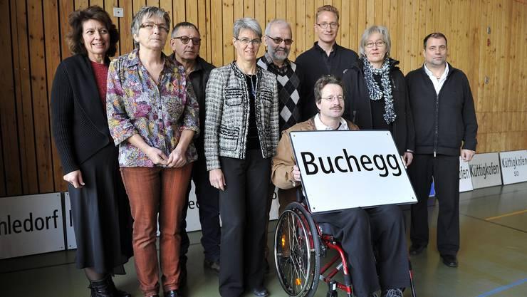 Der Gemeinderat Buchegg im Januar 2014.
