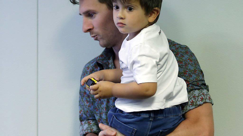 Lionel Messi ist erneut Vater geworden
