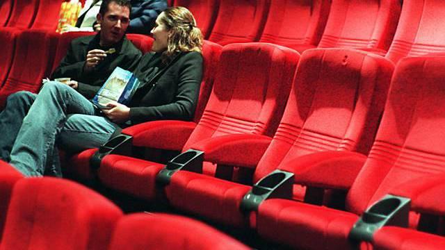 Schweizer Kinosaal in Zürich (Archiv)