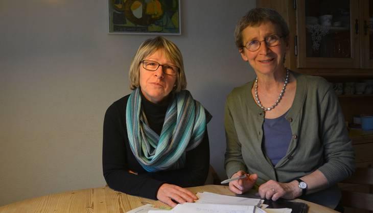 Ursula Matter und Eva Halter haben das Café Grüezi in Muri initiiert.