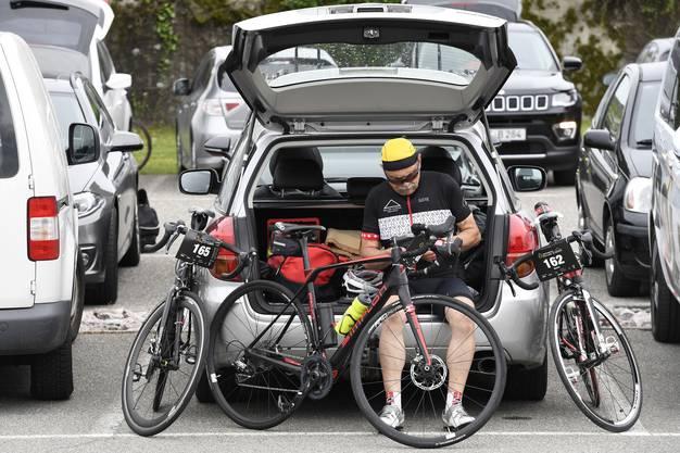 Welches Fahrrad nehmen wir den heute?