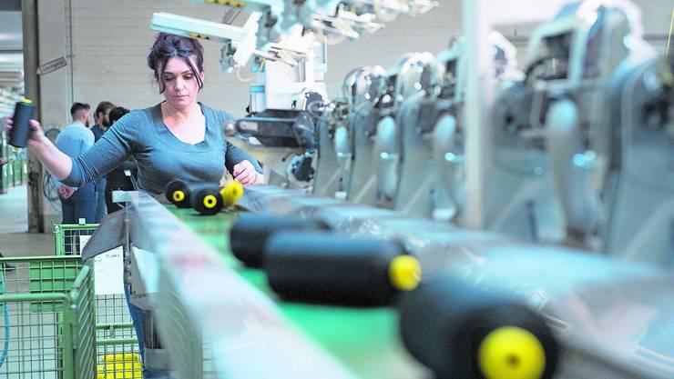 Heute im Einsatz – aber morgen? Unterbeschäftigung trifft vor allem Frauen. (Symbolbild: Marcel Bieri/Keystone)