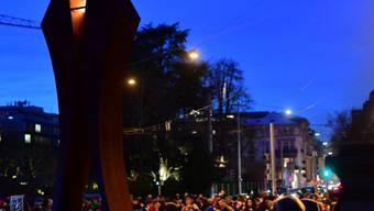 Weihnachtsbrauch: Am Sonntagabend hat das Friedenslicht aus Bethlehem zum 26. Mal den Weg in der Schweiz gefunden.