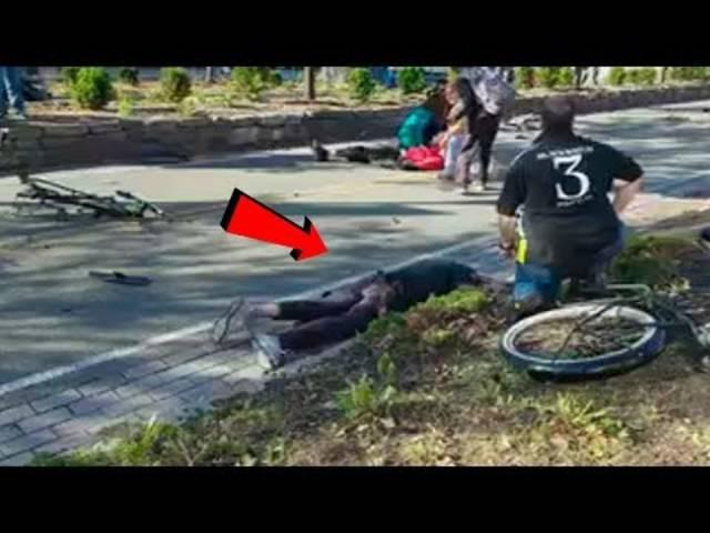 Video zeigt Tatort unmittelbar nach Attacke in New York