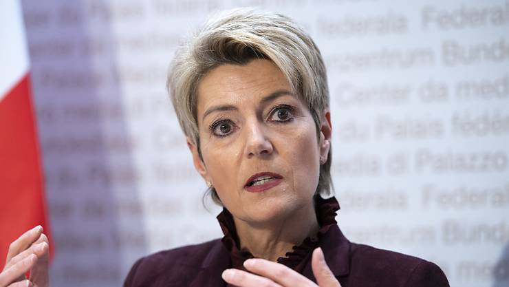 """""""Grossbritannien wird über Nacht abgehängt"""": die Schweizer Justizministerin Karin Keller-Sutter. (Archivbild)"""