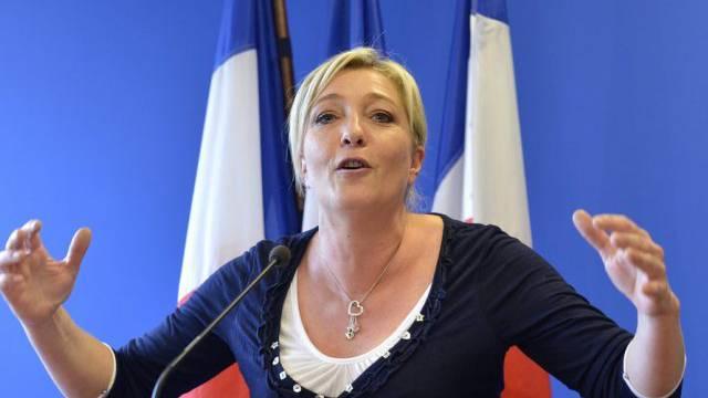 Siegessicher: Front-National-Parteichefin Marine Le Pen