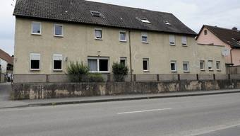 Das Wohnhaus der Familien in Hassmersheim