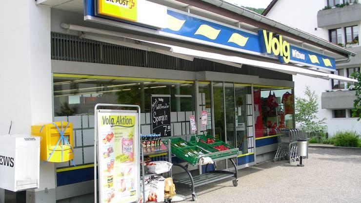 Hier kann nun Bargeld bezogen werden: Die Volg-Filiale in Wittnau