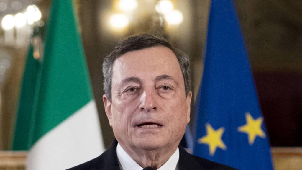Draghi sucht Regierung für Italien: «Deutscher als die Deutschen»