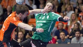 Lenny Rubin und Wacker Thun beenden ihren Auftritt im EHF Cup mit einer Niederlage