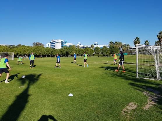 FCA-Staffspiel in Belek
