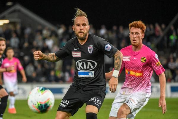 Markus Neumayr und der FC Aarau haben die Partie unter Kontrolle.