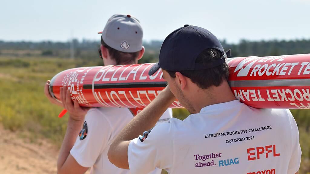 Studenten-Team der ETH Lausanne gewinnt Raketen-Wettbewerb