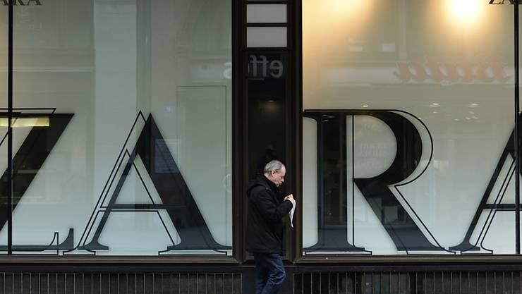 Zara-Mutterkonzern Inditex steigert Gewinn. (Archiv)