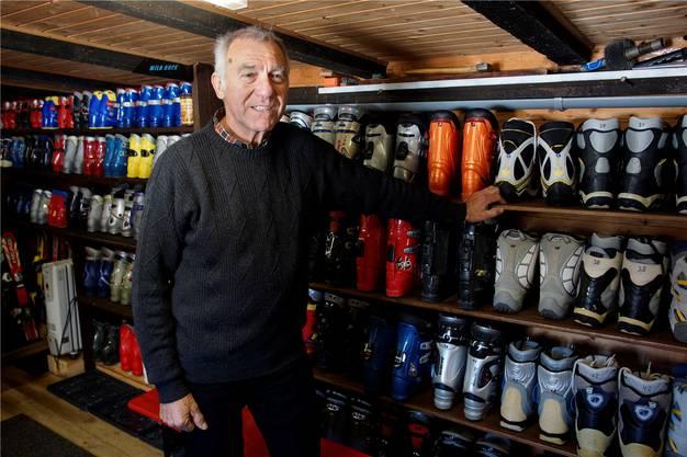 Hans Küpfer berichtet von fünf Jahrzehnten Schneesport auf dem Balmberg.
