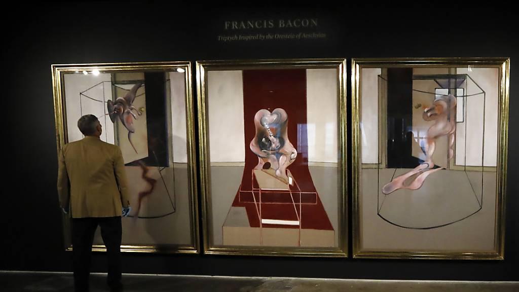Bacon-Triptychon bringt bei Online-Auktion rund 85 Millionen Dollar