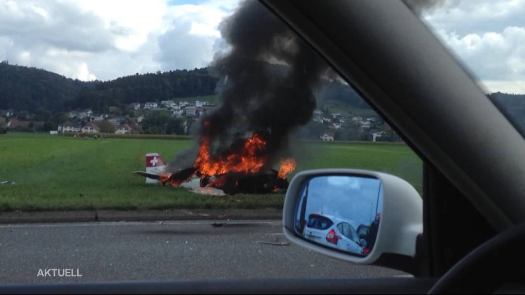 Ursache geklärt: Unfallbericht Flugzeugabsturz von Muhen veröffentlicht