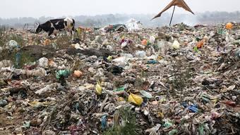 Müllkippe in Indien. (Archivbild)
