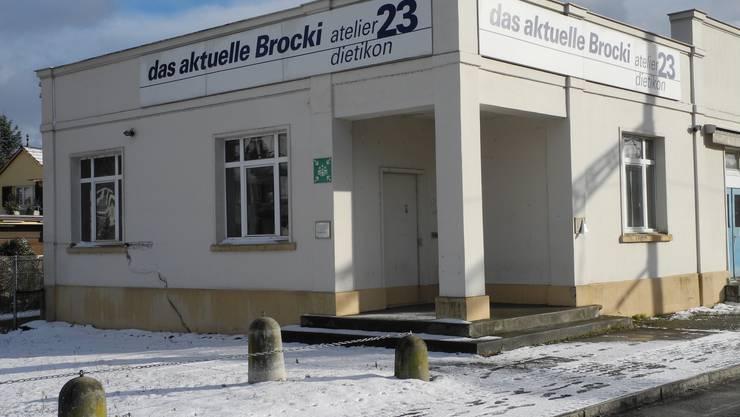 Hier entsteht das Kulturzentrum Gleis 21 - im ehemaligen Brockenhaus Atelier 23, das heute leer steht.