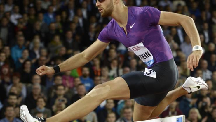 Nicht ganz zufrieden: Kariem Hussein lief in Eugene die 400 m Hürden in 49,47 Sekunden