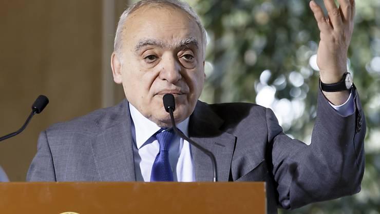 Ghassan Salame tritt aus gesundheitlichen Gründen als Libyen-Gesandter der Uno zurück. (Archivbild)